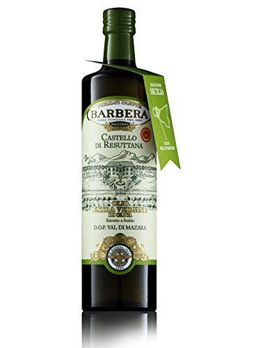 BARBERA Castello Di Resultana Natives Olivenöl Extra, 750ml