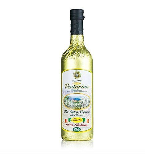 Venturino Extra Natives Olivenöl Non filtrato 100% Italiano, 750ml