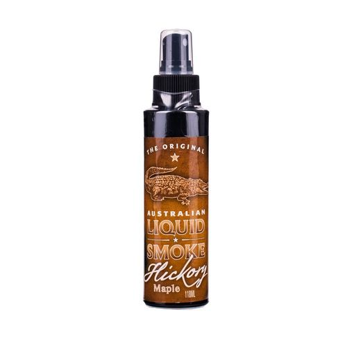 Australian Liquid Smoke Hickory & Ahorn, Flüssigrauchspray, The Original, 118 ml