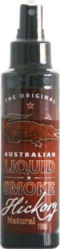 Australian Liquid Smoke Hickory Natural, Flüssigrauchspray, The Original, 118 ml