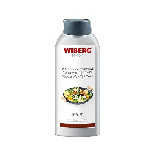 WIBERG BASIC Wok Sauce Teriayaki, vegan, 652ml