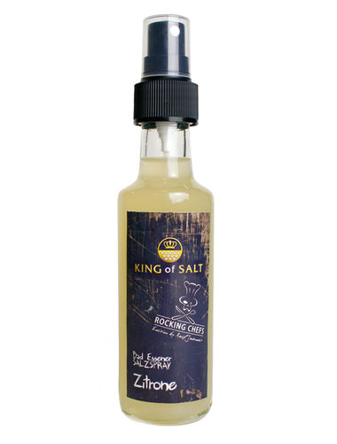 King of Salt Rocking Chefs Edition Zitrone, 100 ml