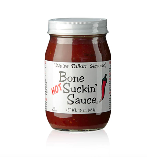 Bone Suckin´ Sauce Hot, BBQ Sauce, Ford´s Food, 473 ml