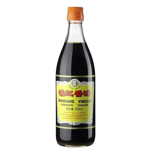 Schwarzer Reis Essig - Chinkiang Vinegar, 5,5% Säure, China, 550 ml